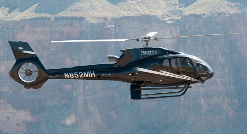 Maverick Airlines: Grand Canyon Helicopter Tour with Landing