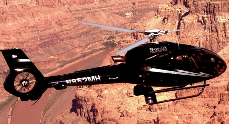Maverick Airlines: Western Journey Helicopter Tour