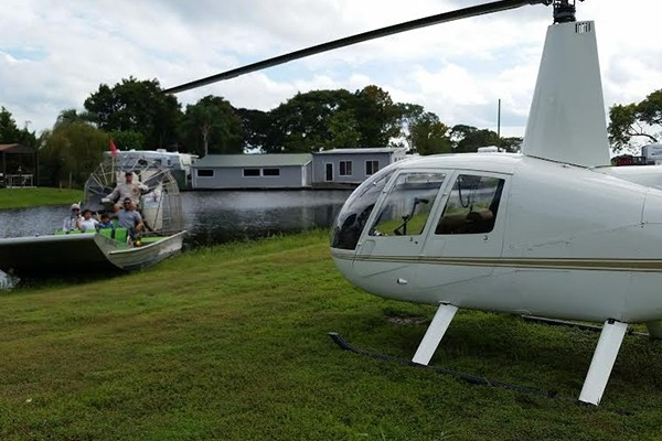 Kissimmee Theme Park or Gatorland Sightseeing Helicopter Tour