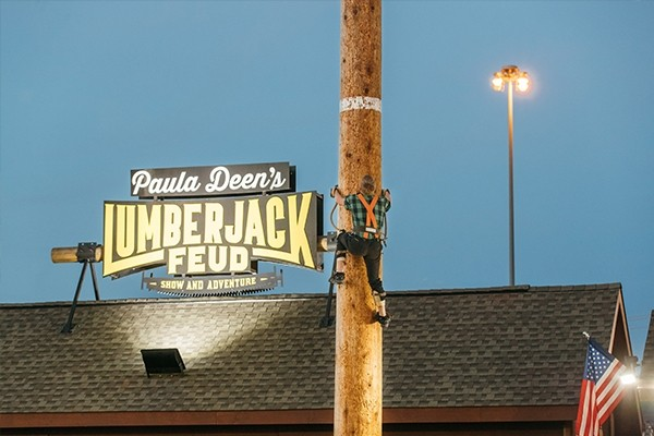 Paula Deen's Lumberjack Feud and Adventure