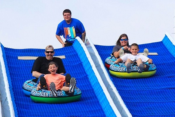 Rowdy Bear Mountain - Pigeon Forge - Combo Ticket - Hill tubing and laser gun coaster