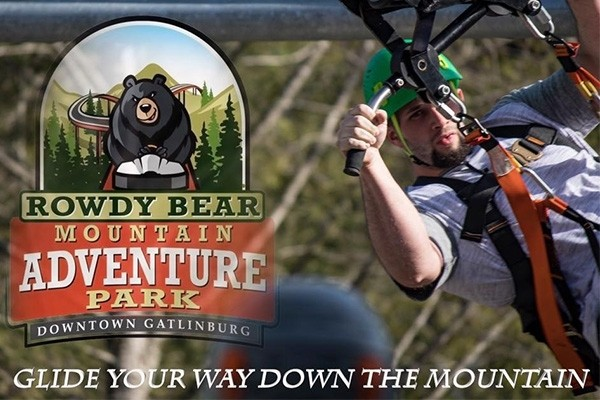 Rowdy Bear Mountain - Gatlinburg - Single Glider Ride